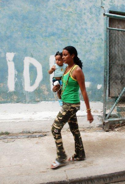 Куба: Люди, лица и не только (много фото) **