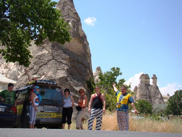АвтоКругосветка из Сибири. Турция,Кападокия. Фото.