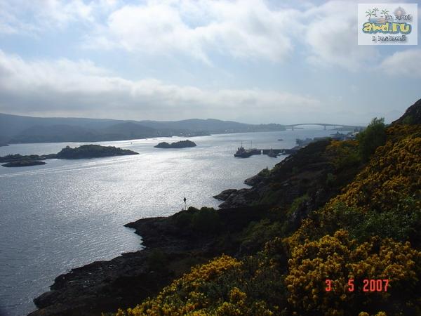 Остров Скай (Isle of Skye) у побережья Шотландии