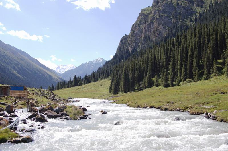Треккинг в Киргизии.
