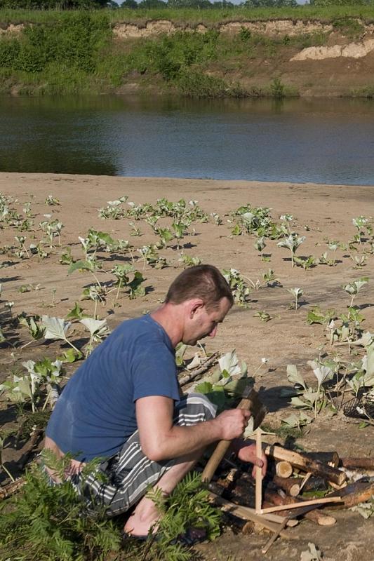 На плоту по реке Жиздра (Фото-отчет)