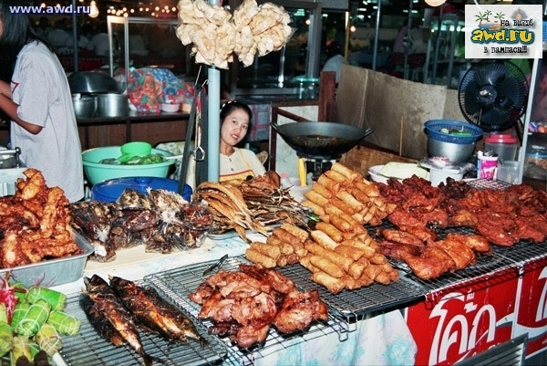Тайская кухня - визитная карточка Тайланда.