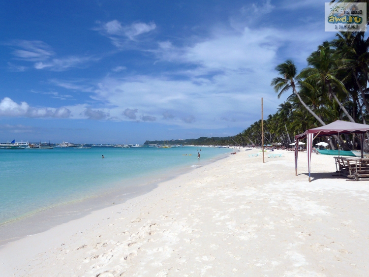 пляжи Боракай