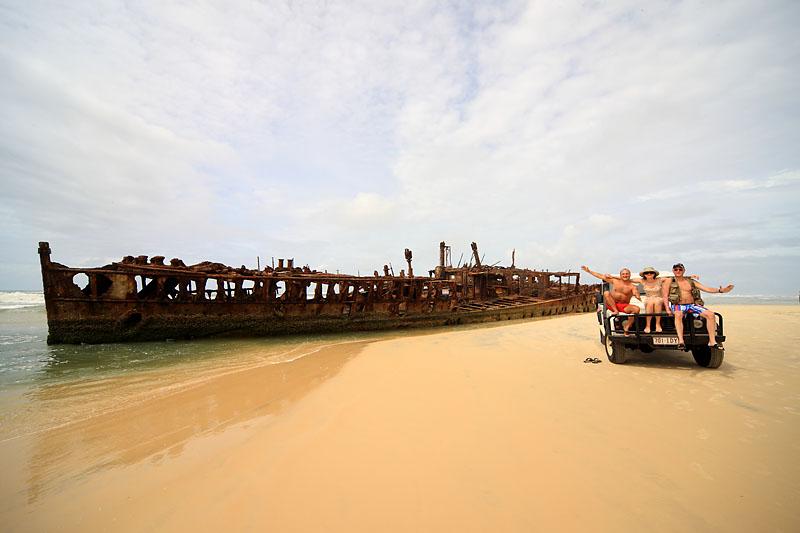 Остров Фрейзер австралия. По Фрейзеру на джипе