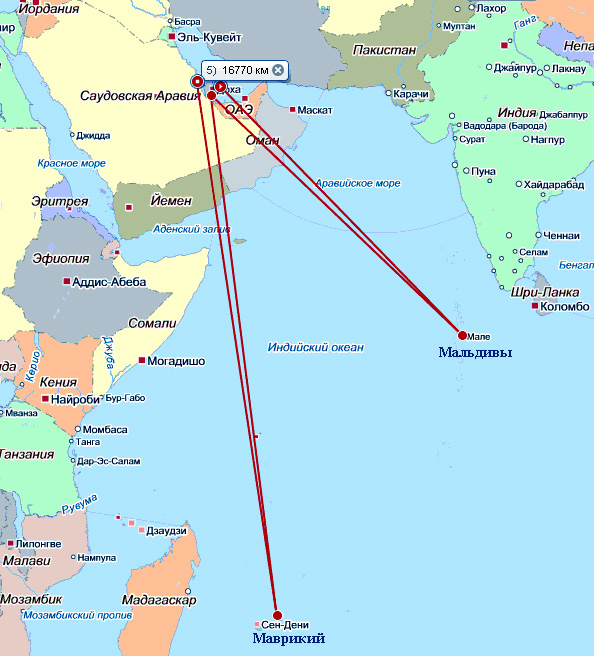 Мальдивы, Сейшелы, Маврикий одним махом! Реально!?