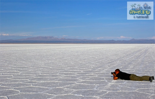 Salar Уюни в Боливии