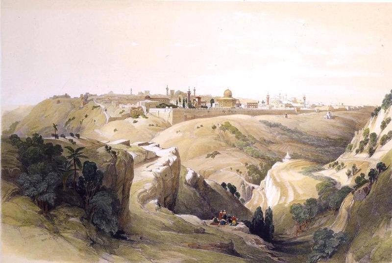 Взятию иерусалима предшествовал утомительный трёхлетний поход крестоносцев из европы до палестины
