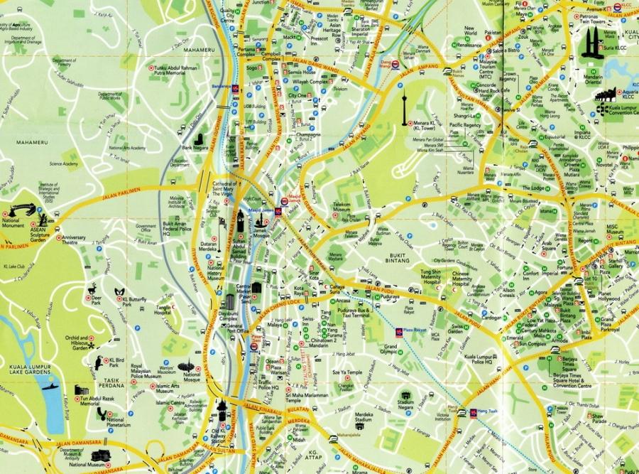 На метро и городском