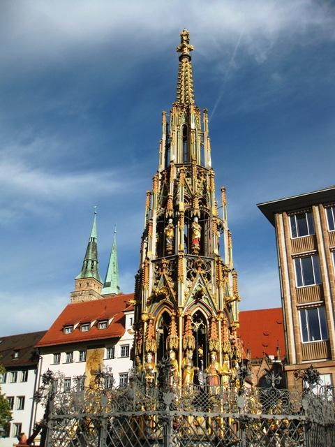Под небом голубым...октябрьской Баварии (+ Страсбург)