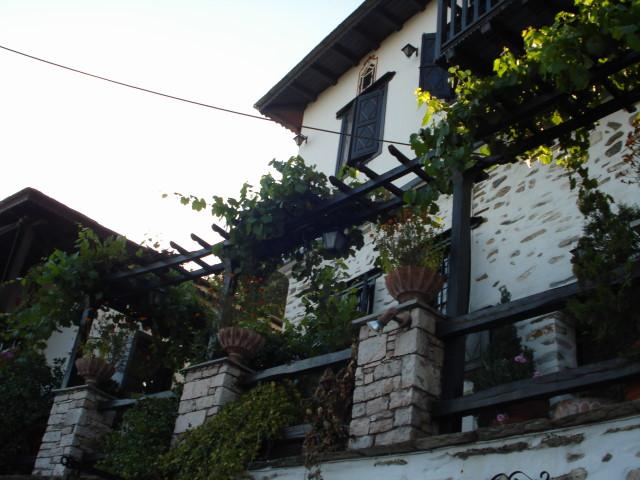 Деревня в греции вилла