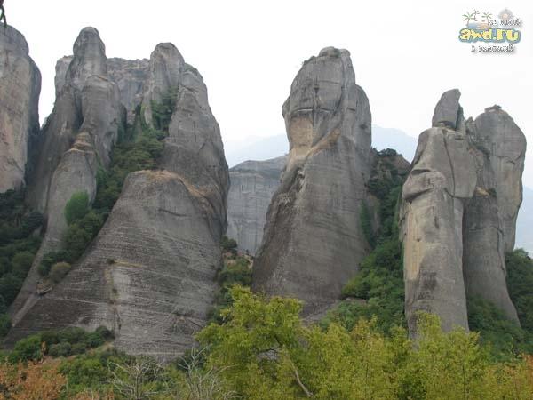Греция. Первое самостоятельное путешествие. Сентябрь 2007.