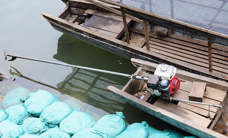 вьетнамский лодочный мотор