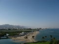 Oman. View over Qurm Beach from Crowne Plaza